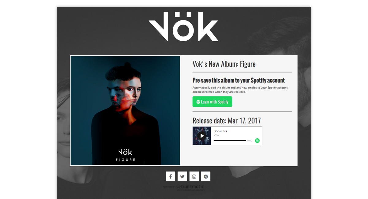 Vok Presave for Spotify